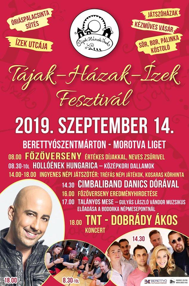 Tájak-Házak-Ízek Fesztivál