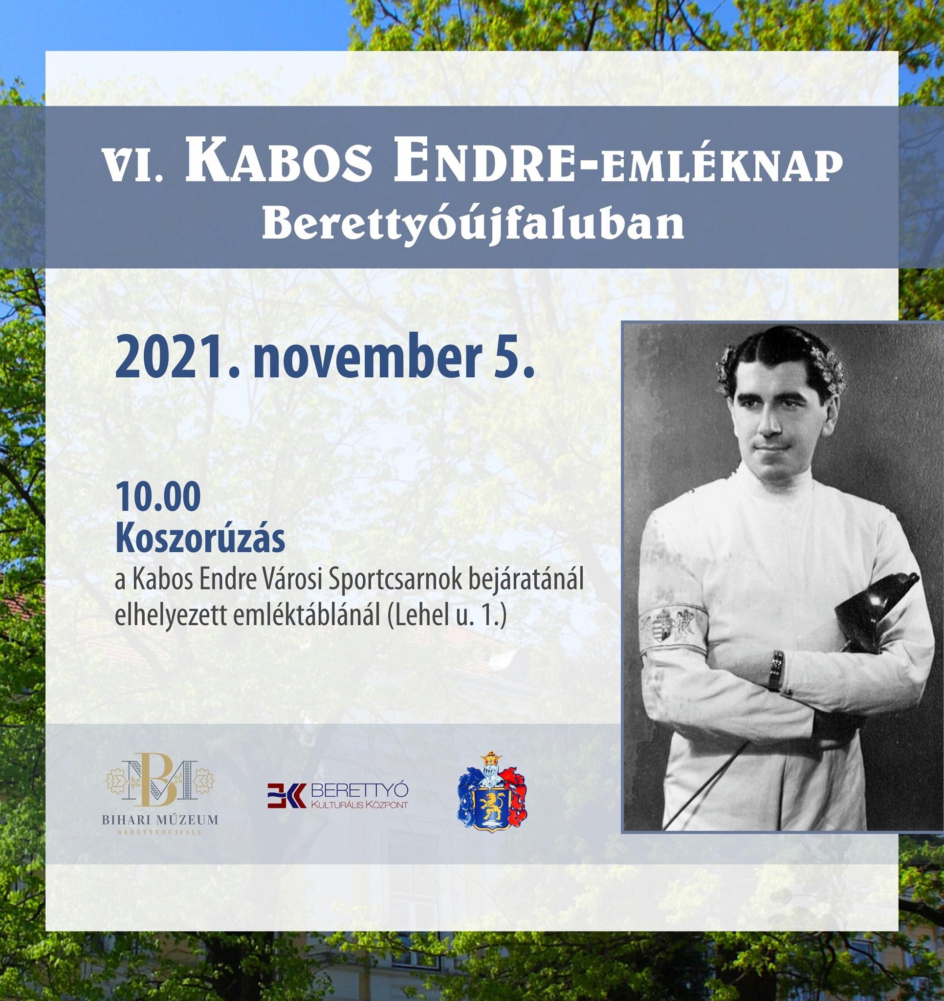 VI. Kabos Endre-emléknap Berettyóújfaluban
