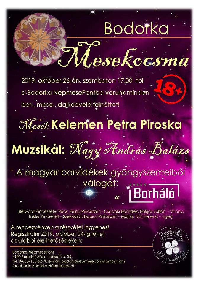 Fairytale Pub - Listen to adults only at the Bodorka Folk TalePoint