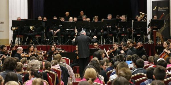 Filharmónia ifjúsági koncertek I. a Nadányi Zoltán Művelődési Házban