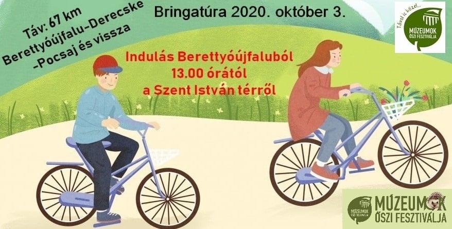 Kerékpártúra a Múzeumok Őszi Fesztiválja rendezvénysorozat keretein belül