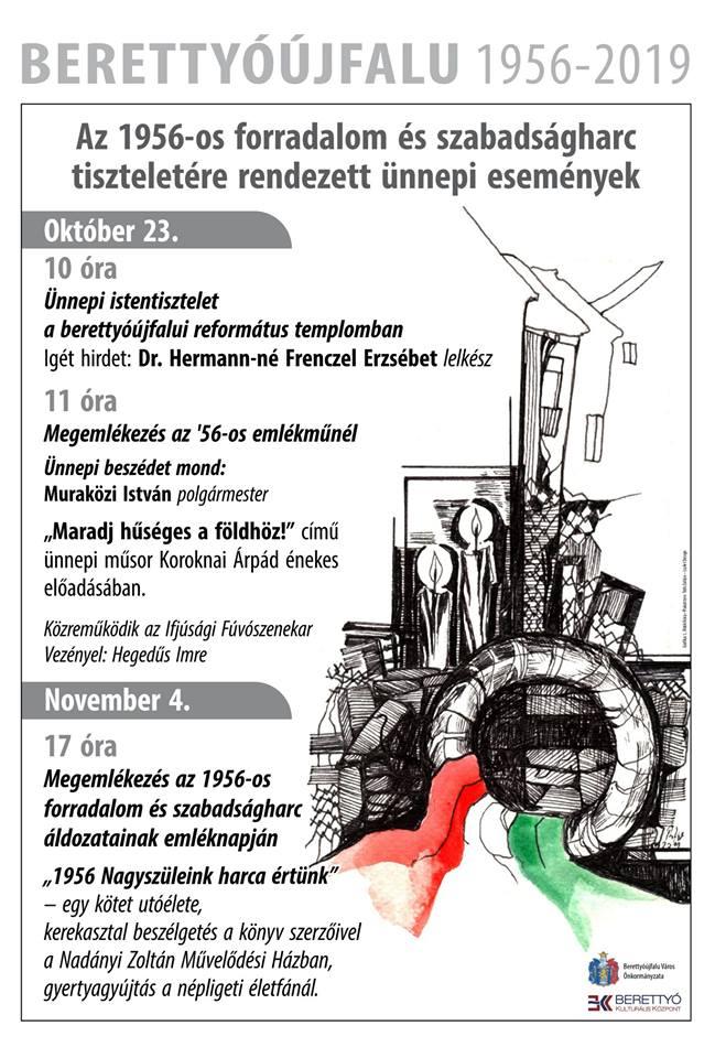 Megemlékezés az 1956-os forradalom és szabadságharc áldozatainak emléknapján