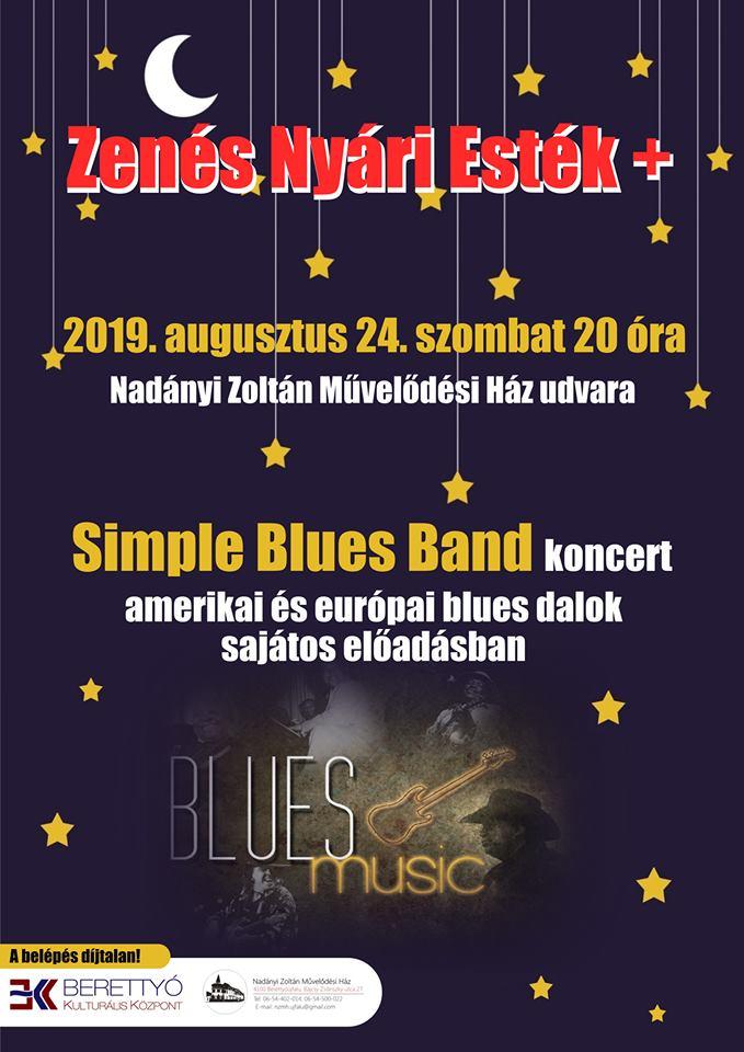 Zenés Nyári Esték - Simple Blues Band