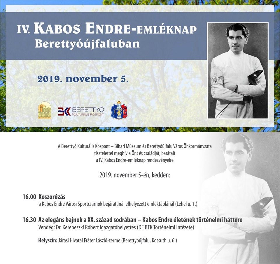 IV. Kabos Endre-emléknap