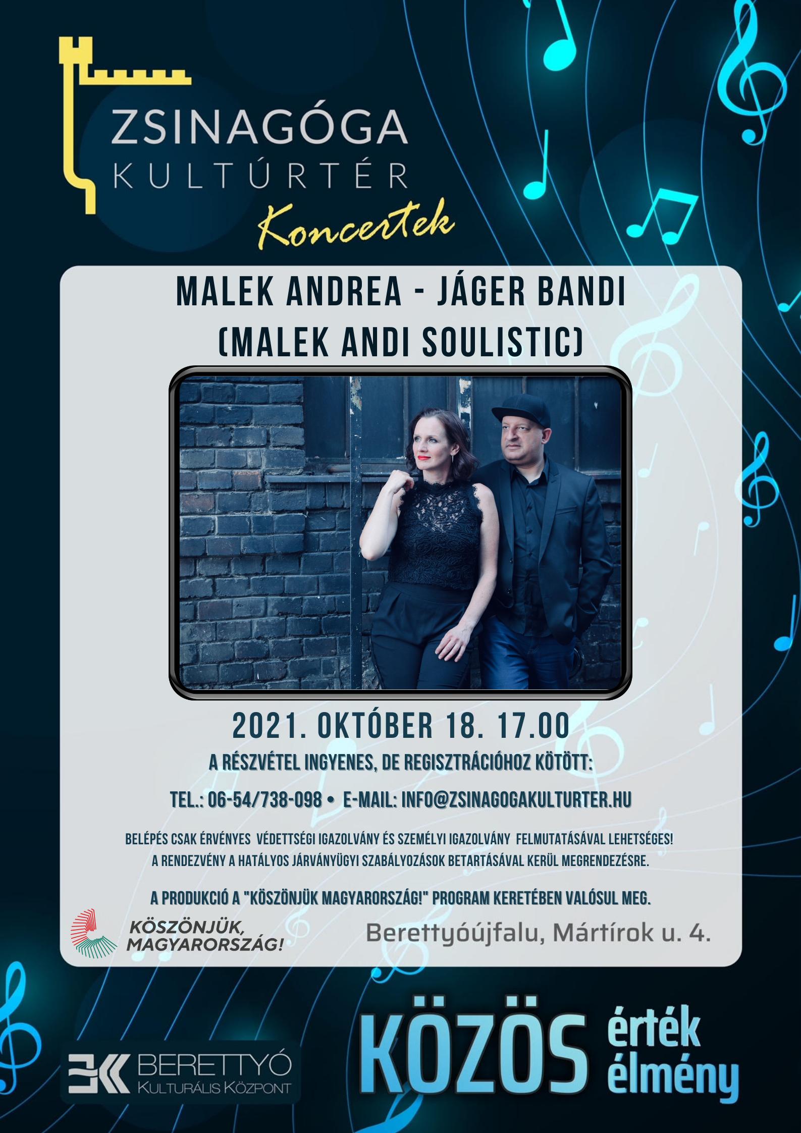 Malek Andrea - Jáger Bandi (Malek Andi Soulistic) Koncert